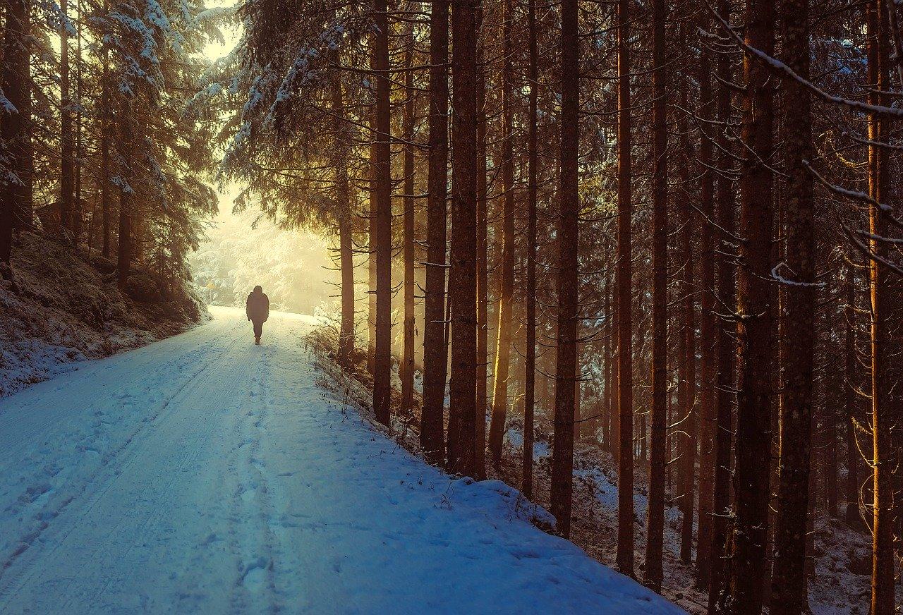 La randonnée comme sport vous fait du bien.